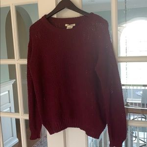 Billabong seed stitch cotton sweater